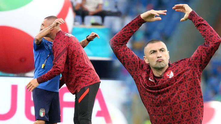 Roma Olimpiyat Stadı'nda Burak Yılmaz İtalyan isme gitti! Görkemli açılış