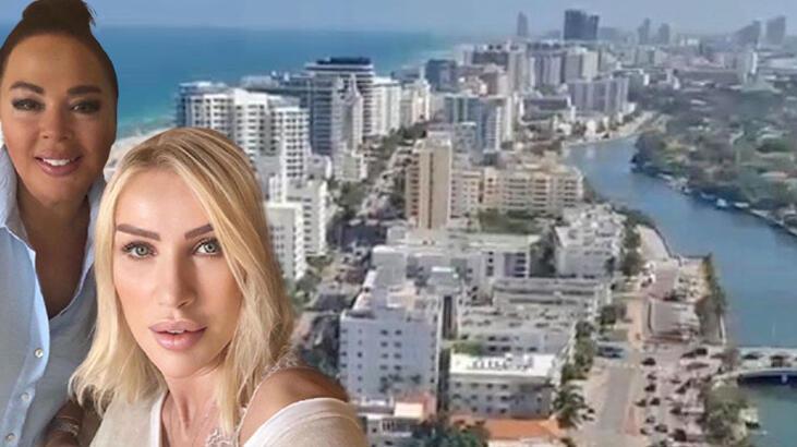 Safiye Soyman'dan Miami paylaşımı! İşte Seda Sayan'ın evi