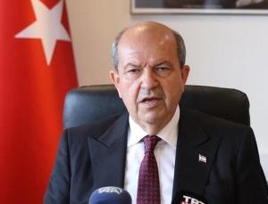 KKTC Cumhurbaşkanı Tatar'dan TBMM Başkanı Şentop'a 'teşekkür' telefonu