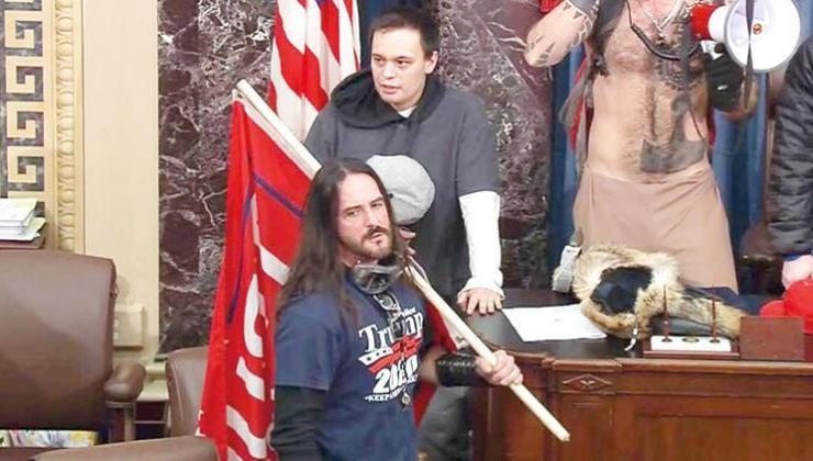 Kongre baskınına ilk hapis cezası