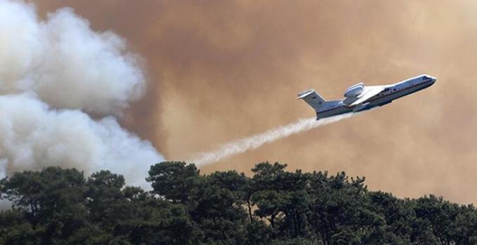 Türkiye yangın kabusu yaşıyor! Yol kapandı