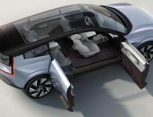 Volvo, elektrikli SUV konseptini tanıttı
