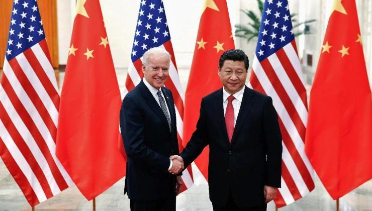 abd başkanı biden ile çin lideri şi cinping'den 7 ay sonra ilk görüşme: 90 dakika konuştular