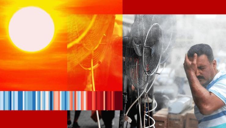 i̇klim değişikliği: sıcaklığın 50 derecenin üzerine çıktığı gün sayısı, 40 yılda iki katına çıktı