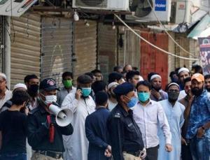 pakistan'da corona aşısı olmayanlar gözaltına alındı