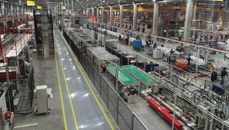 arçelik eskişehir fabrikası dünyanın en gelişmiş üretim merkezleri arasına girdi