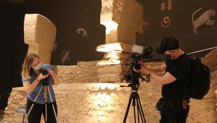 Discovery Channel, Şanlıurfa'da tarih belgeseli çekiyor