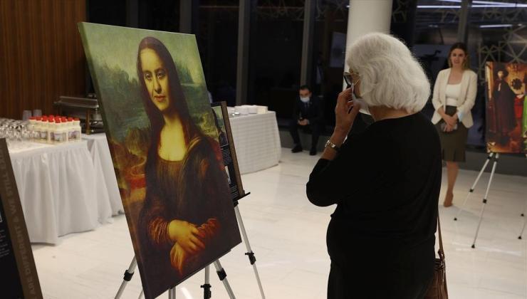 Down sendromlu Mona Lisa New York'ta (Sen ve Biz sergisi)