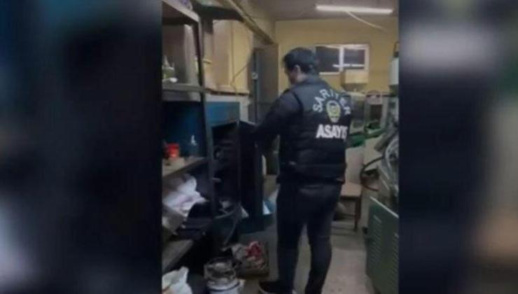 i̇stanbul'da tıkırtı sesleri silah imalathanesini ortaya çıkarıldı