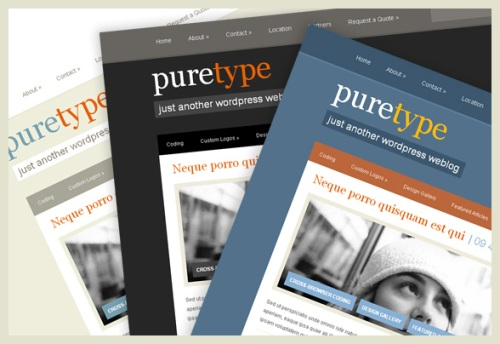 PureType Premium WordPress Theme