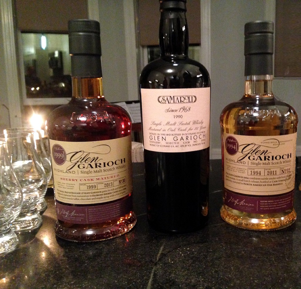 Glen Garioch limited editions
