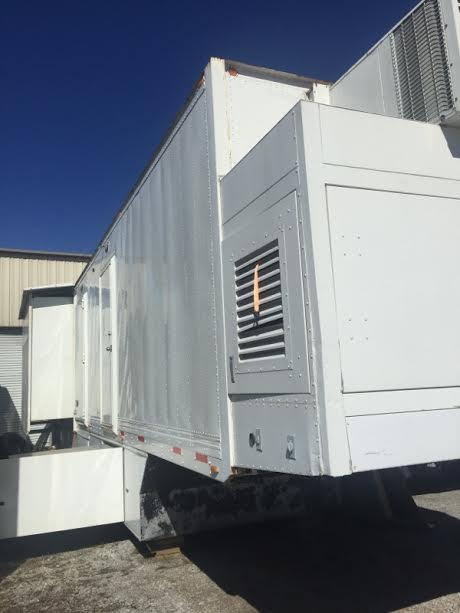 Mobile CT scan trailers available KY 2 units for sale identical