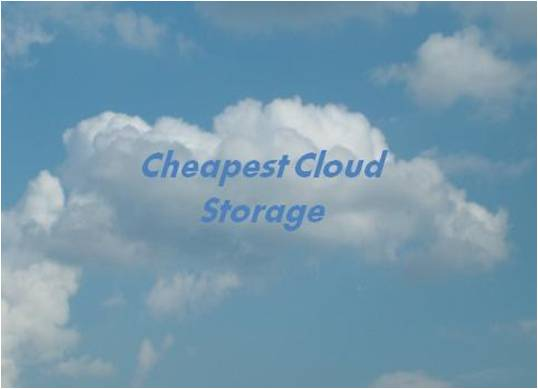 Technology Management Image: Top 5 Cheap/Low Cost Personal Cloud Storage Services