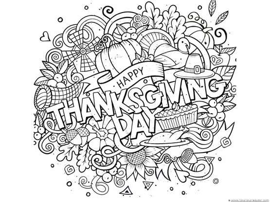 free thanksgiving doodle coloring pages here on our just color page