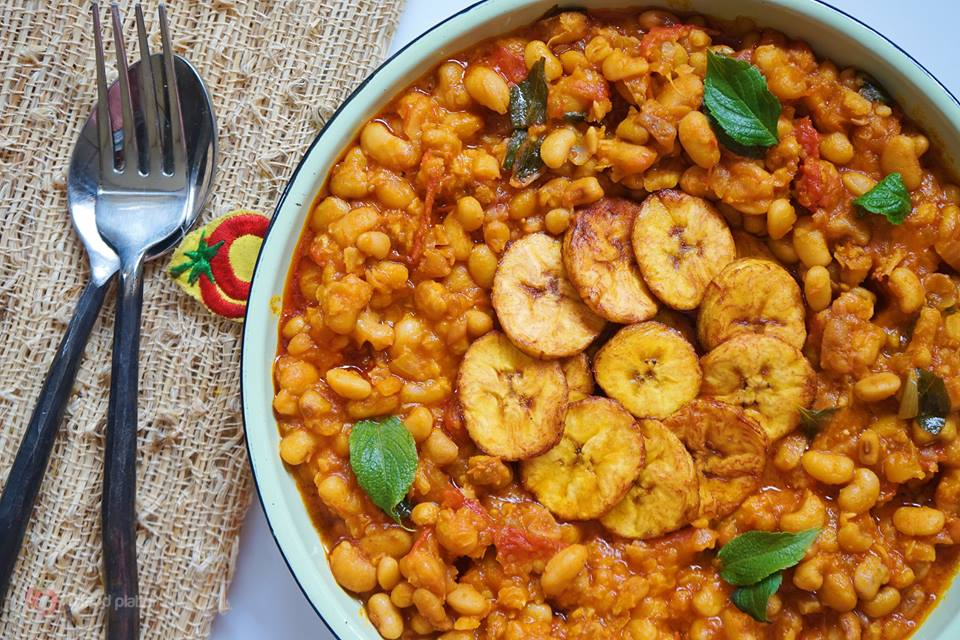 Nigerian herby beans pottage recipe