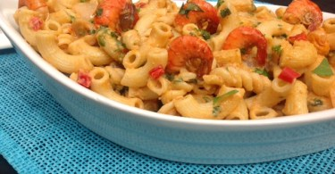 macaroni and cashew nut cream