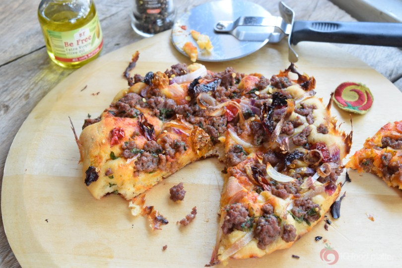 Pizza Puff Minced Meat Topping 5