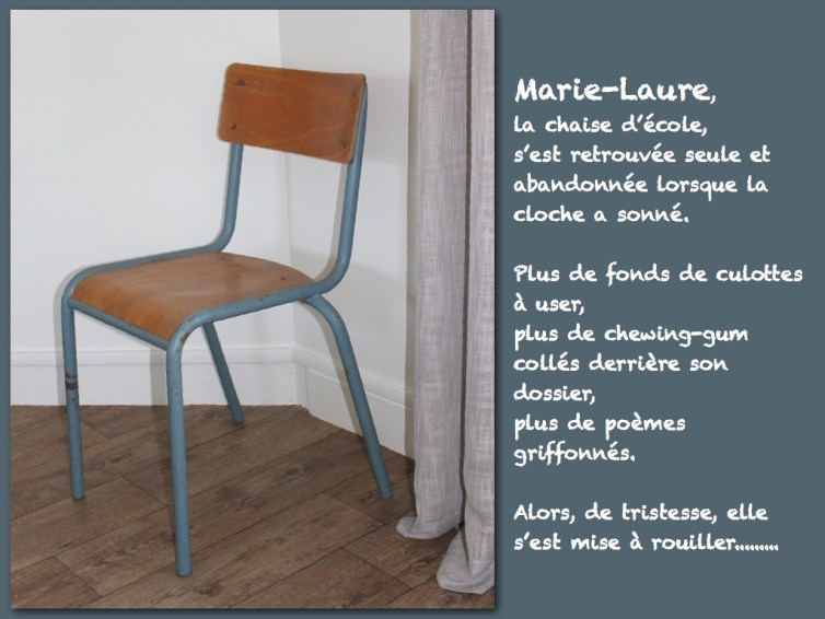 Chaise -ecole-Mullca-taille adulte
