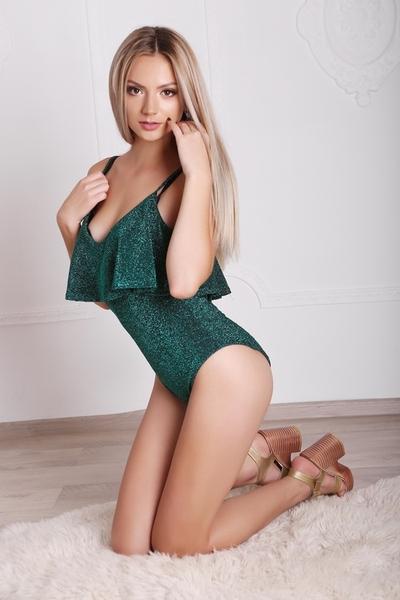 blond Ukrainian womankind from city Ternopol Ukraine