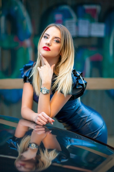 brilliant Ukrainian female from city Dnipro Ukraine