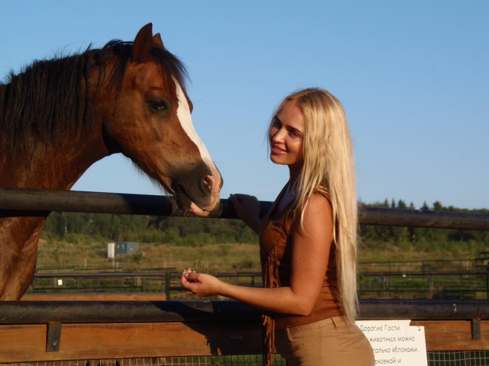 fervent Russian marriageable girl from city Moscow Russia