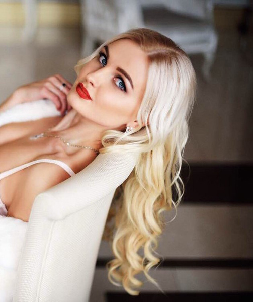 well-mannered Ukrainian marriageable girl from city Kyiv Ukraine