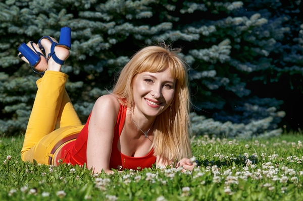 romantic Ukrainian fair sex from city Dnipro Ukraine