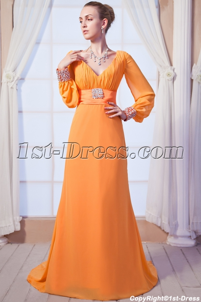 Modest Formal Gowns Sleeves