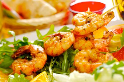 shrimpAndSalad