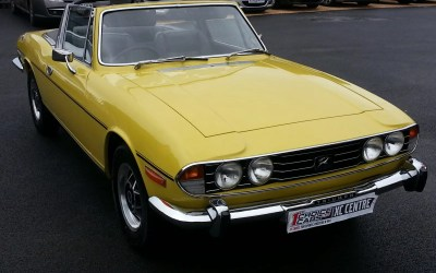 Triumph Stag (Yellow)