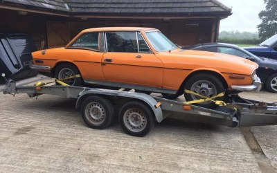 Triumph Stag (Orange)