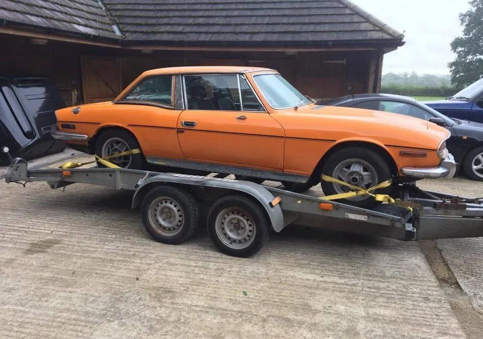 Triumph Stag (Orange)