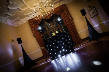 Black Star Cloth Disco Setup