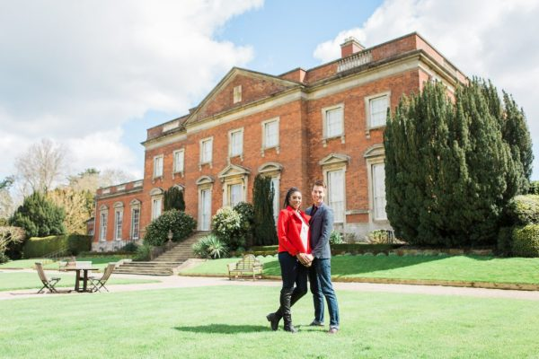 Kelmarsh Hall Engagement Shoot pre Wedding