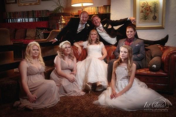 Sharon and Darren Wedding at the Bridge Hotel in Thrapston