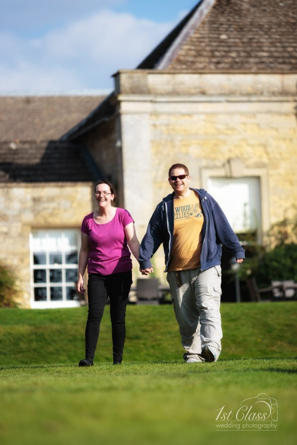 Barton Hall Pre wedding engagement family shoot