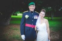 RAF Chicksands Military Wedding Photographer