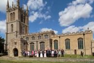 Titchmarsh Church Wedding