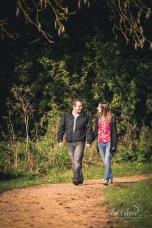 Natasha and Lee Hinchingbrooke Country Park Engagement Shoot in advance of their wedding at Hinchingbrooke House