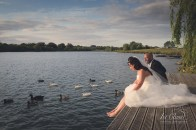 Grendon Lakes Wedding Photography.