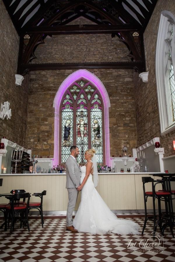 Church Restaurant Northampton Wedding Photographer