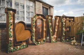 rustic love letter hire Northamptonshire