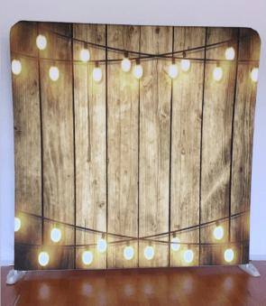 light wood and lights