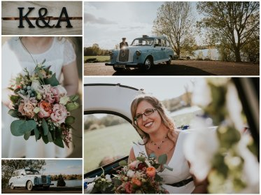 Grendon Lakes recommended wedding photographer
