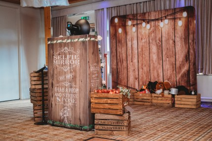 Rustic Magic Mirror Hire