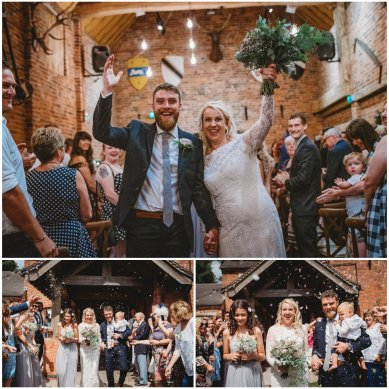 donnington park farmhouse wedding photographer
