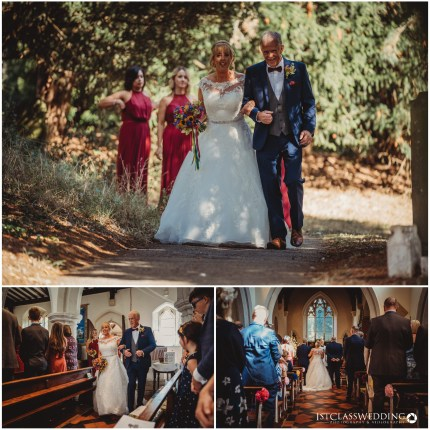 Flitwick Church Wedding Photographer