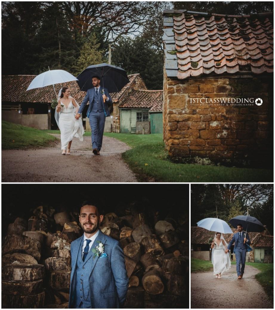 Barns at Hunsbury Hill Wedding Photographer