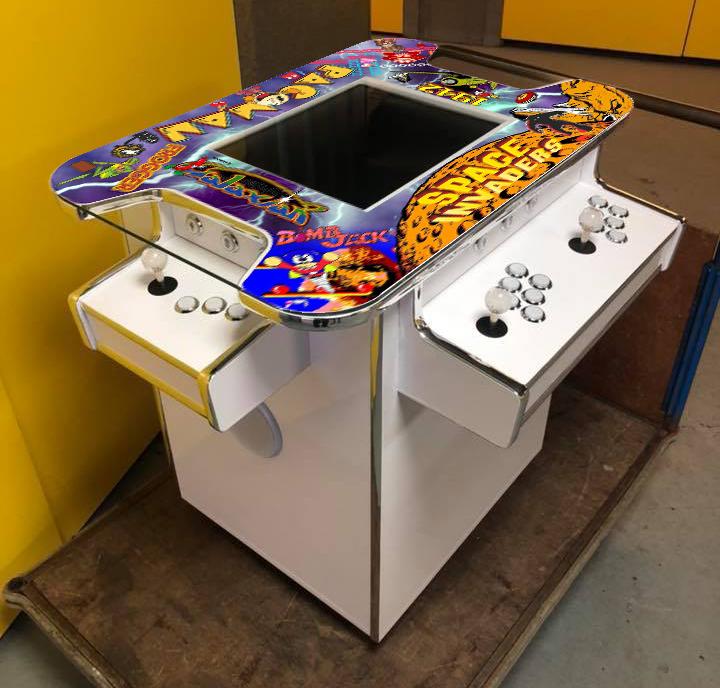 Wedding Retro Gaming Table Hire