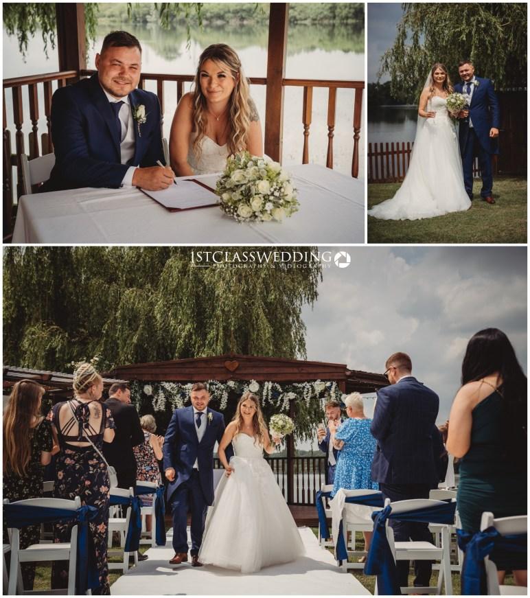 Wedding at Grendon Lakes